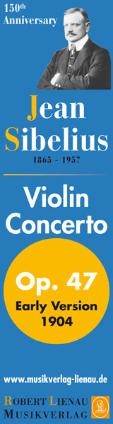 Lienau Sibelius Violin Concerto - the Early Version